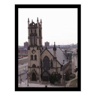 St. John's Episcopal Church, Detroit Postcard