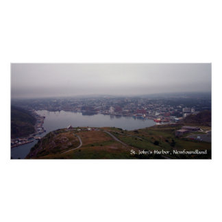 St. John's Harbor, Newfoundland Poster