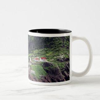 St. John's, Newfoundland, Canada, historic Fort Two-Tone Mug