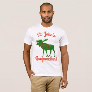 St.John's Newfoundland  moose customizable shirt