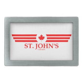 ST. JOHN'S RECTANGULAR BELT BUCKLES