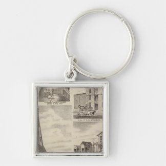 St. John's Roman Catholic Church, Minnesota Keychain