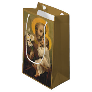 St. Joseph and Baby Jesus Small Gift Bag