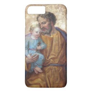 St. Joseph Baby Jesus Cross Lily iPhone 7 Plus Case