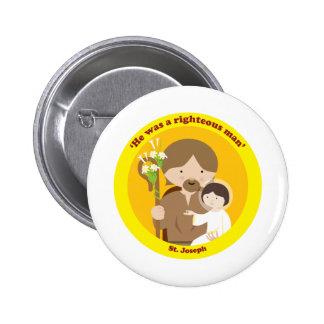 St. Joseph Pinback Buttons
