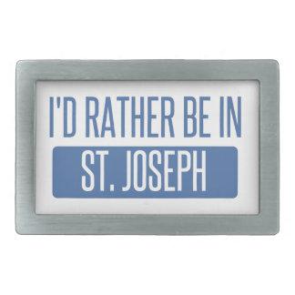 St. Joseph Belt Buckles