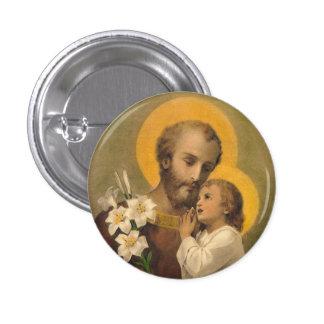 St. Joseph Button Catholic