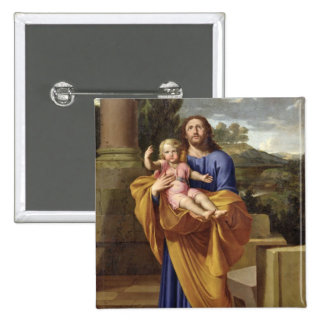 St Joseph Carrying the Infant Jesus 1665 Pins