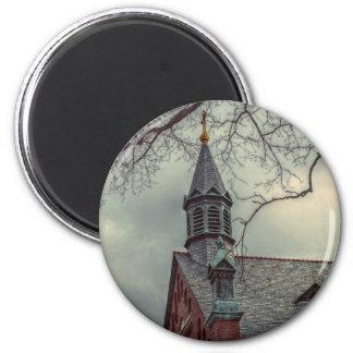 St Joseph Chapel 6 Cm Round Magnet