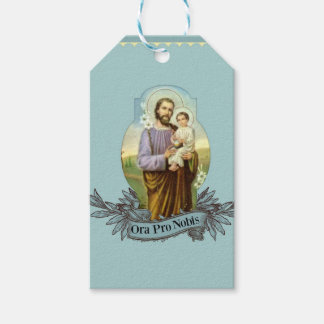 St. Joseph Feast Day March 19 Gift Tags