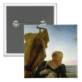 St Joseph from Rest on the Flight into Egypt Button
