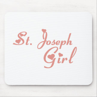 St Joseph Girl tee shirts Mouse Pads