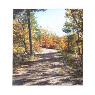 St Joseph Island Fall Path Notepad