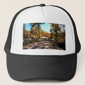 St Joseph Island Fall Path Trucker Hat