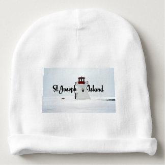 St Joseph Island lighthouse Baby Beanie