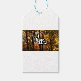 St Joseph Island Maple trees Gift Tags