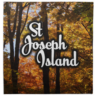 St Joseph Island Maple trees Napkin