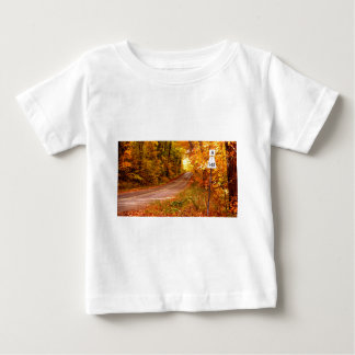St Joseph Island Maples in Fall Colour Baby T-Shirt