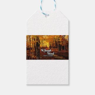 St Joseph Island, Ontario Canada Fall Gift Tags