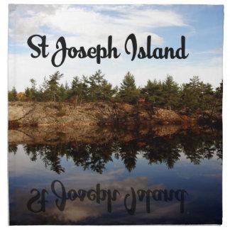 St Joseph Island reflections Napkin