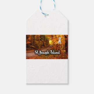 St Joseph Island road Gift Tags