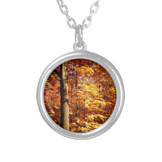 St Joseph Island Sugar Maples Silver Plated Necklace