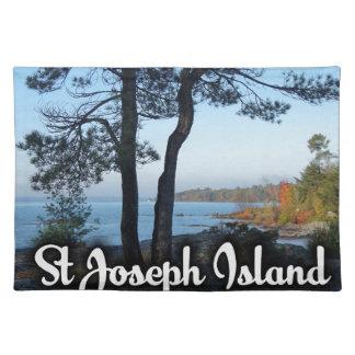 St Joseph Island view Placemat