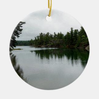 St Joseph Island wilderness Ceramic Ornament
