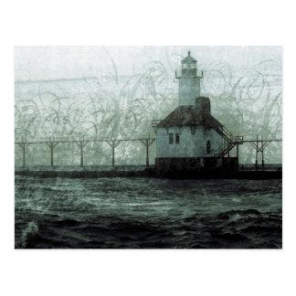 St. Joseph Michigan Lighthouse Postcard