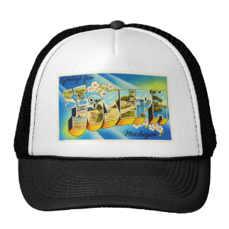 St Joseph Michigan MI Old Vintage Travel Souvenir Cap