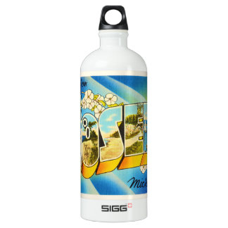 St Joseph Michigan MI Old Vintage Travel Souvenir SIGG Traveller 1.0L Water Bottle