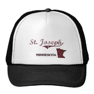 St. Joseph Minnesota City Classic Mesh Hats