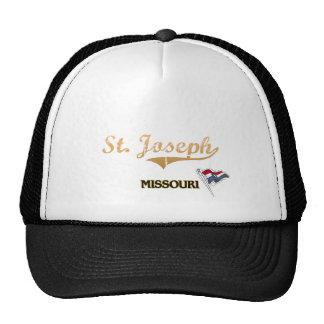 St. Joseph Missouri City Classic Mesh Hats