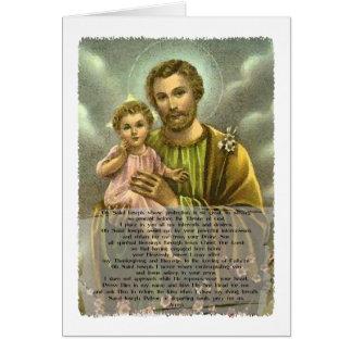 St Joseph Novena 2 Greeting Card