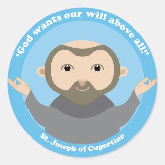 St. Joseph of Cupertino Classic Round Sticker