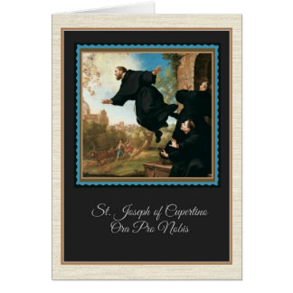 St. Joseph of Cupertino Greeting Card