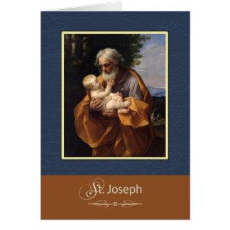 St. Joseph Pray For Us Card