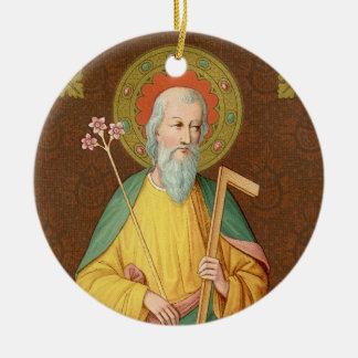 St. Joseph (SAU 35) Circular Ceramic Ornament