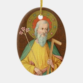 St. Joseph (SAU 35) Oval Ceramic Ornament