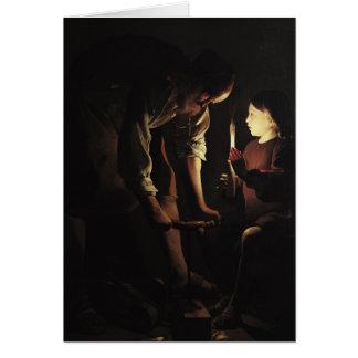 St. Joseph, the Carpenter, c.1640 Greeting Card