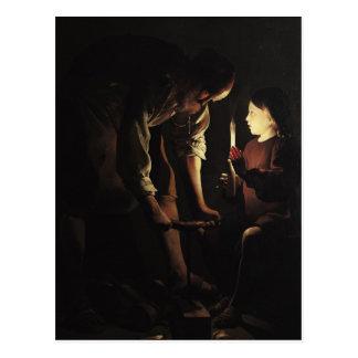 St. Joseph, the Carpenter, c.1640 Postcard