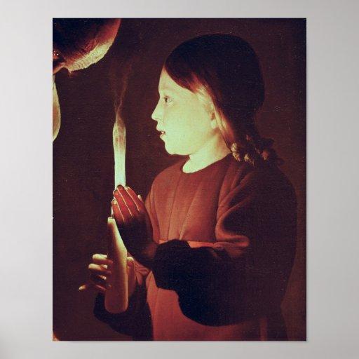 St. Joseph the Carpenter, detail of Infant Poster