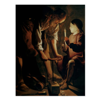 St. Joseph, the Carpenter Postcard