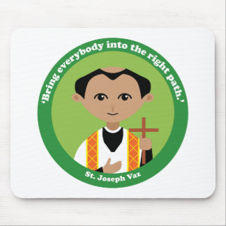 St. Joseph Vaz Mouse Pad