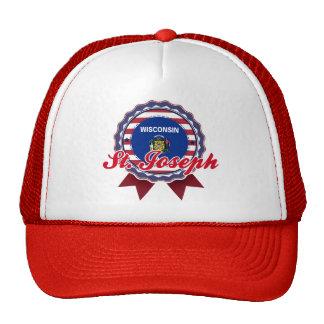 St. Joseph, WI Mesh Hats