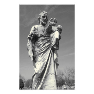 St Joseph with Child stationary Customised Stationery