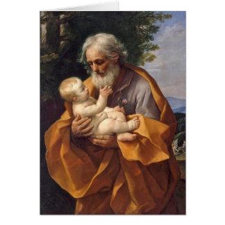 St. Joseph with Infant I Card