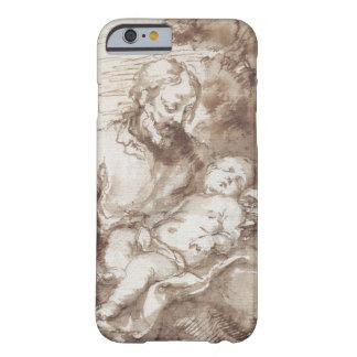 St Joseph with the Sleeping Christ Child pen b iPhone 6 Case