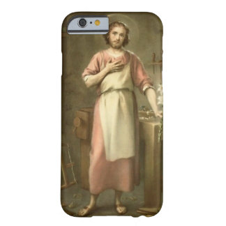 St. Joseph with Tools Work Bench Barely There iPhone 6 Case