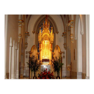 St. Joseph's Cathedral Tabernacle Postcard